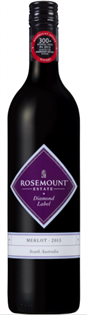Rosemount Estate Merlot Diamond Label...